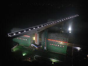 پلی که روی هوا میچرخد