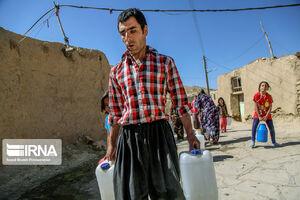 عکس/ بحران آب شُرب در روستاهای بیجار