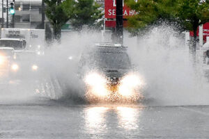 سه کشته در بارشهای سیلآسا ژاپن