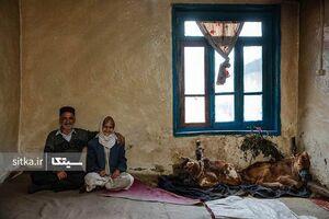 تصویری جالب از یک خانه روستایی