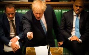 انحراف به چپ دموکراسی در لندن؛ پارلمان انگلیس تعلیق شد