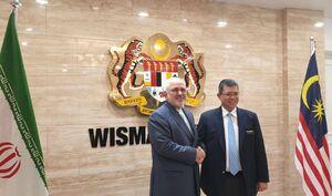 دیدار ظریف با وزیر امور خارجه مالزی