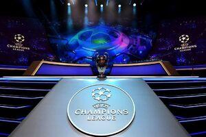 آغاز مراسم قرعهکشی لیگ قهرمانان اروپا