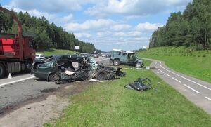 فیلم/ خلق حادثه مرگبار توسط راننده ۷۰ ساله!