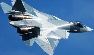 سقوط یک فروند جنگنده سوخو 57 در روسیه
