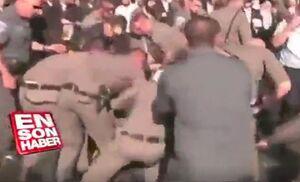 ضرب و شتم پلیس اسرائیل با مخالفان خدمت سربازی