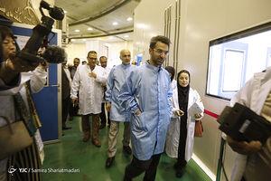 بازدید وزیر ارتباطات از ماهواره ناهید۱