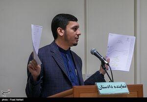فیلم/ توضیحات نماینده دادستان در مورد قاضی فراری