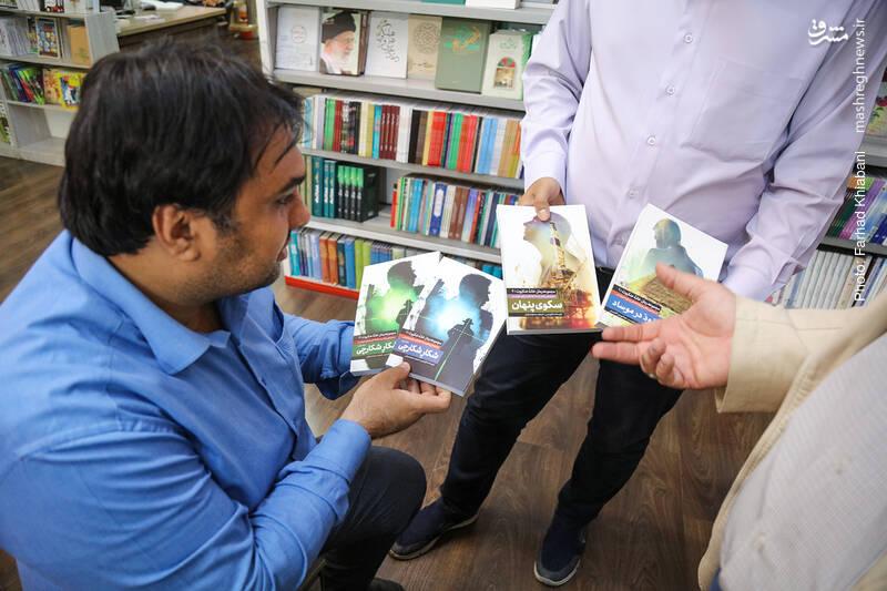 مجموعه رمان خانه عنکبوت از نشر شهید کاظمی، دیگر کتابی است که هم انتخاب سید وحید است و هم انتخاب محمد.