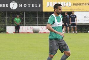عکس/ امید ابراهیمی در لباس تیم جدیدش