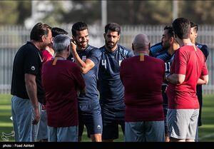 عکس/  تمرین تیم ملی فوتبال
