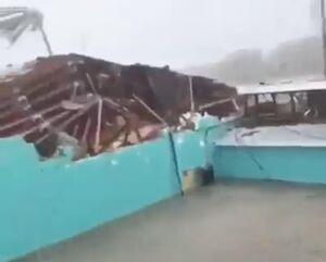 عکس/ خسارات شدید طوفان در باهاما