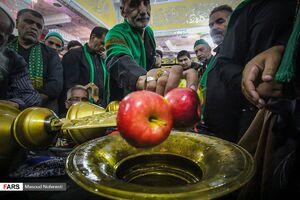 عکس/ آیین سنتی «علمبندان» در بیرجند
