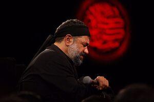 فیلم/ روضه جانسوز حضرت علی اصغر(ع) با نوای حاج محمود کریمی