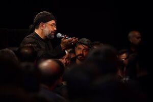 صوت/ شب دوم محرم با نوای حاج محمود کریمی