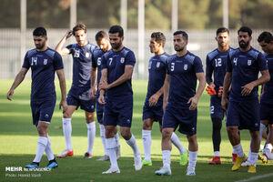 عکس/ اولین تمرین تیم ملی فوتبال ایران