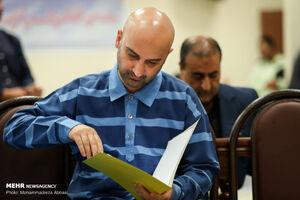 عکس/ بیستونهمین جلسه دادرسی متهمان پرونده بانک سرمایه
