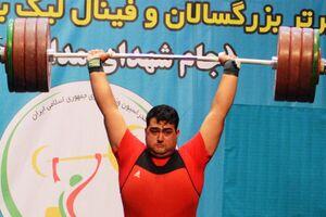استوری قهرمان وزنه برداری جهان برای حاج قاسم +عکس