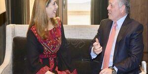 حمایت پادشاه اردن از خواهرش در برابر حاکم دبی