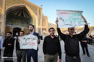 عکس/ اجتماع مردم زنجان در حمایت از اقدامات قوه قضاییه