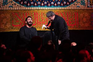 صوت/ شب سوم محرم با نوای حاج محمدرضا طاهری