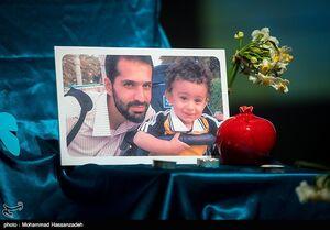 عکس/ فرزند شهید احمدی روشن در مانور همدلی