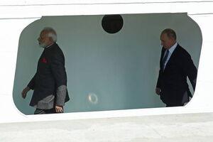 کِشتیسواری پوتین با نخستوزیر هند