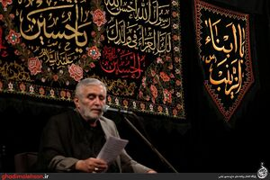 فیلم/ روز تاسوعا با نوای حاج منصور ارضی