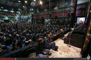 عکس/ شب چهارم محرم؛ مسجد ارک تهران