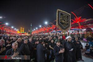 فیلم/ شب حضرت عباس (ع) در کربلای معلی