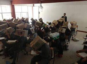 ابتکار معلم مکزیکی برای جلوگیری از تقلب توسط دانشآموزان