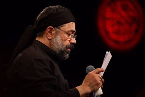 فیلم/ نوحه زیبای محمود کریمی برای امیرالمومنین(ع)