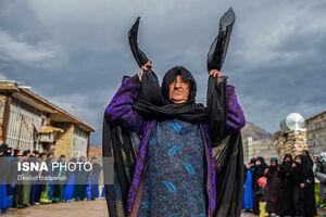 عکس/ سوگواری خاص «زنان زیلایی» در محرم