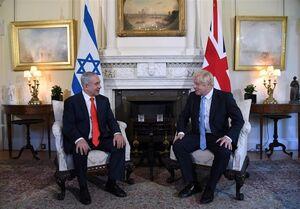 دیدار نتانیاهو و جانسون در لندن