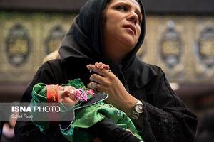 عکس/ مراسم شیرخوارگان حسینی در استانها