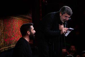 صوت/ شب هفتم محرم با نوای حاج محمدرضا طاهری