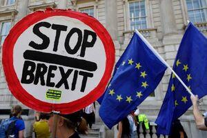 صفآرایی موافقان و مخالفان برگزیت در خیابانهای انگلیس +عکس