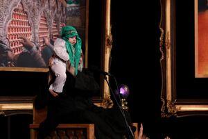 عکس/ عزاداری شب هفتم محرم؛ مسجد امیر