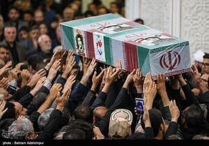 عکس/ تشییع پیکر شهید قهرمانی پس از ۳۷ سال
