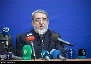 عبدالرضا رحمانی فضلی در نشست خبری در پایانه خسروی برگزار