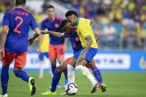 فیلم/ خلاصه دیدار برزیل 2-2 کلمبیا