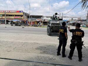 عکس/ انفجار خونین در فیلیپین