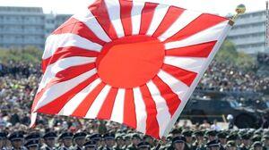 درگیری مسئولان کره و ژاپن بر سر یک پرچم