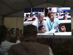 تلاش ناموفق هند برای ارسال فضاپیما به ماه