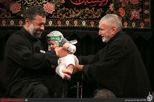فیلم/ مداحی حاج محمود کریمی در مسجد ارک