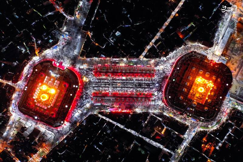 تصویر هوایی جدید از بین الحرمین