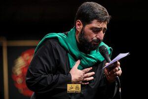 صوت/ شب هشتم محرم با نوای سید مجید بنیفاطمه