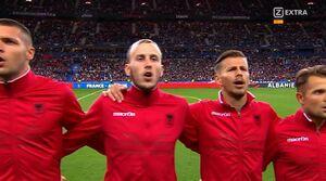 فیلم/ بهت بازیکنان آلبانی از یک اشتباه بزرگ