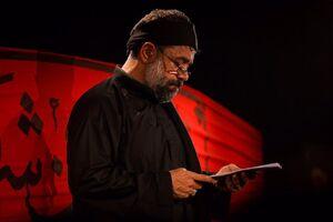صوت/ شب عاشورا با نوای حاج محمود کریمی