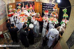 آیین عزاداری شب هشتم محرم در خرمشهر
